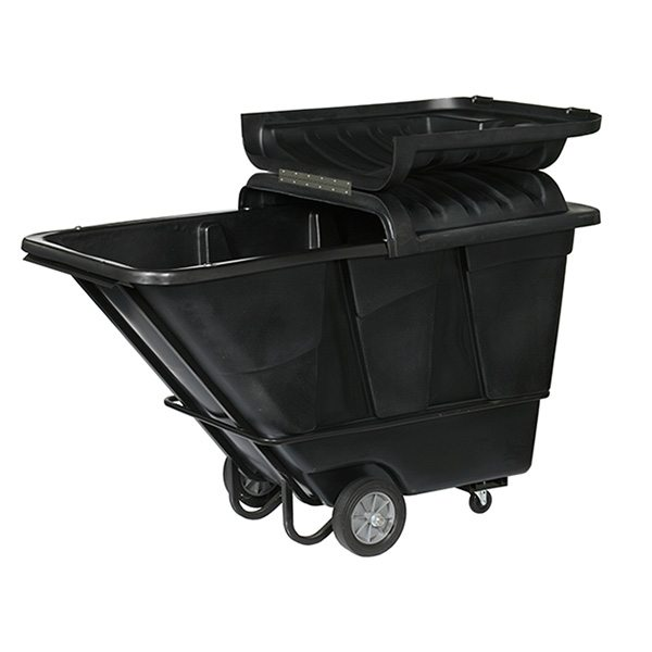 1.5 Cubic Yard Tilt Trucks & Optional Cover