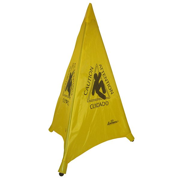 "Collapsible ""Caution"" Tri-Cones"