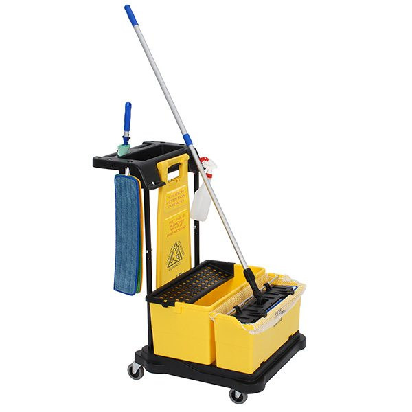 Touchless Microfiber Mopping System