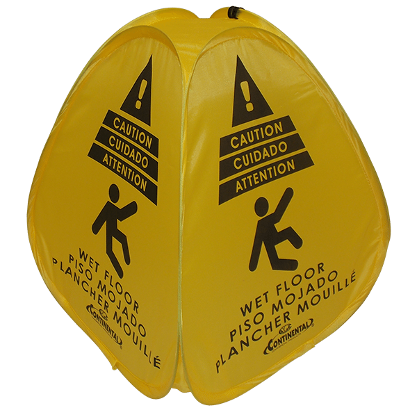 Pop-Up Safety Floor Sign