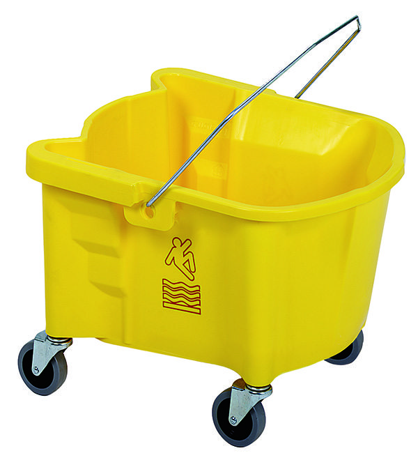 Splash Guard Mop Bucket-1