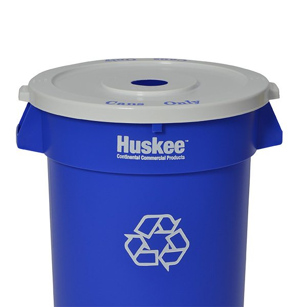 Huskee™ Round Flat Recycle Lid